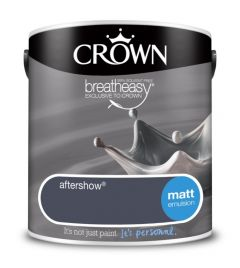 Crown Matt Emulsion 2.5L Aftershow