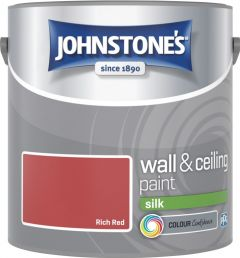Johnstone's Wall & Ceiling Silk 2.5L Rich Red