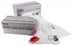 Prodec Super Cling Dust Sheet 200Sqm