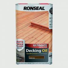 Ronseal Ultimate Decking Oil 5L Dark Oak