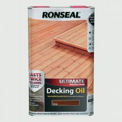 Ronseal Ultimate Decking Oil 5L Teak