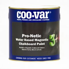 Coovar Pronetic Water Based Magnetic Chalk Board Paint 500Ml