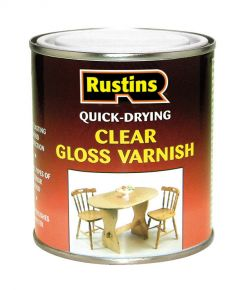 Rustins Acrylic Varnish 500Ml Clear Gloss