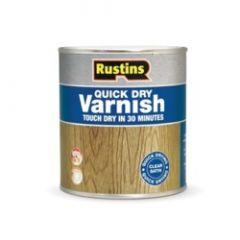 Rustins Acrylic Varnish 500Ml Clear Satin