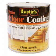 Rustins Quick Dry Acrylic Floor Coating Satin 2.5L