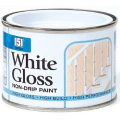 151 Coatings Gloss Non-Drip Paint 180Ml White