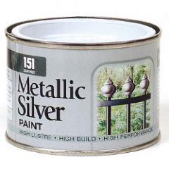 151 Coatings Metallic Paint 180Ml Silver
