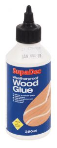 Supadec Weatherproof Wood Glue 250Ml