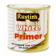 Rustins White Primer 250Ml