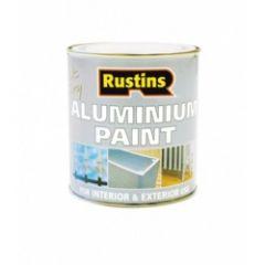 Rustins Quick Dry Aluminium Paint 250Ml