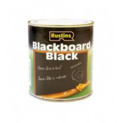 Rustins Quick Dry Blackboard Black 250Ml