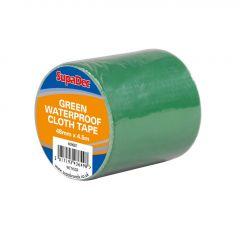 Supadec Waterproof Cloth Tape 48Mm X 4.5M Green
