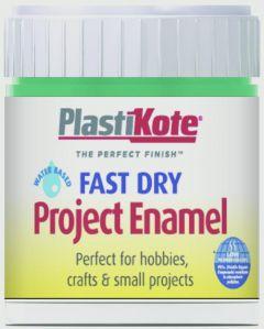 Plastikote Fast Dry Enamel Brush On Jade - 59Ml Bottle