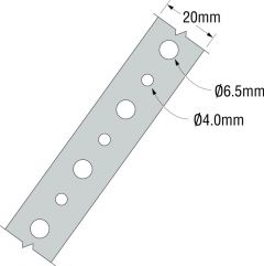 Simpson Strong Tie Fixing Band 20Mm X 10M