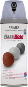 Plastikote Twist & Spray Paint 400Ml Grey Primer