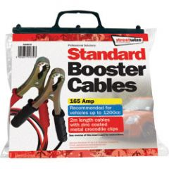 Streetwize Booster Cable With Metal Crocodile Clips 2M/150 Amp