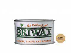 Briwax Natural Wax 400G Antique Brown