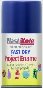 Plastikote Fast Dry Enamel Aerosol Paint Night Blue - 100Ml