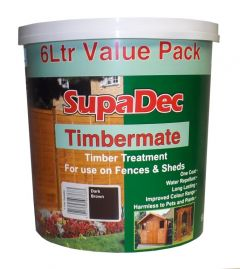 Supadec Timbermate 6L Dark Brown