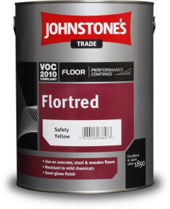 Johnstone's Trade Flortred 5L Safety Yellow