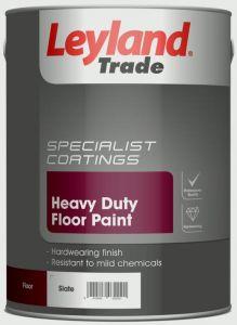 Leyland Trade Heavy Duty Floor Paint 5L Slate