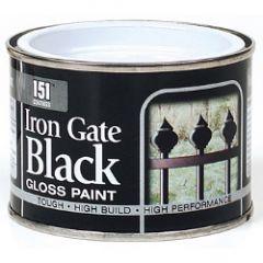 151 Coatings Iron Gate Gloss Paint 180Ml Black