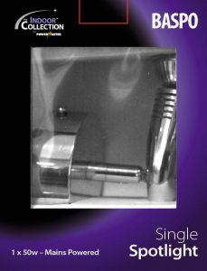 Powermaster Basic Single Spot Brushed