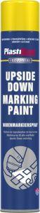 Plastikote Upside Down Marking Paint 750Ml Yellow