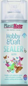 Plastikote Hobby & Craft Sealer 400Ml Gloss