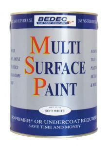 Bedec Msp Soft Gloss 750Ml Soft White