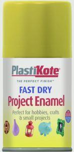 Plastikote Fast Dry Enamel Aerosol Paint Brass - 100Ml
