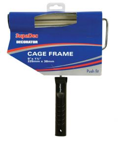 Supadec Roller Frame With Plastic Handle 9 X 1.5 / 225Mm X 38Mm