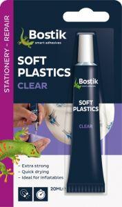 Bostik Soft Plastics Clear Adhesive 20Ml Blister
