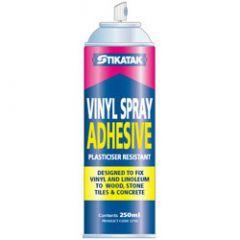 Stikatak Vinyl Spray Adhesive 250Ml
