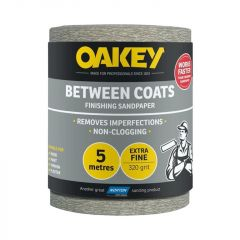 Norton Oakey Between Coats Rolls - 5M X 115Mm 320