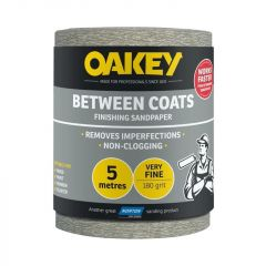 Norton Oakey Between Coats Rolls - 5M X 115Mm 180G