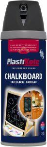 Plastikote Chalkboard Spray Paint Black 400Ml