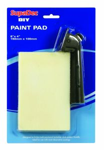Supadec Diy Paint Pad With Handle 6X4