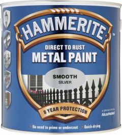Hammerite Metal Paint Smooth 2.5L Silver