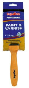 Supadec Professional Paint & Varnish Brushes 3/75Mm