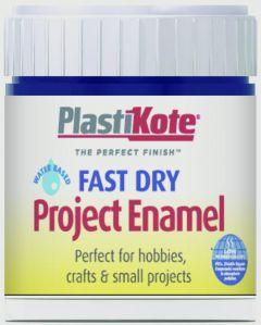 Plastikote Fast Dry Enamel Brush On Night Blue - 59Ml Bottle