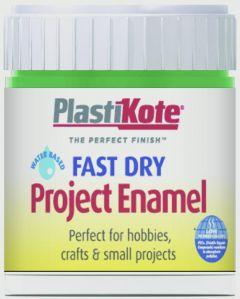 Plastikote Fast Dry Enamel Brush On Garden Green - 59Ml Bottle