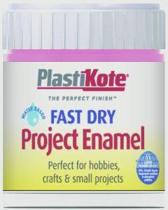 Plastikote Fast Dry Enamel Brush On Hot Pink - 59Ml Bottle