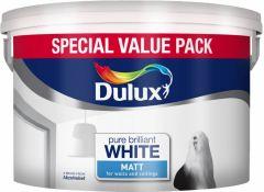 Dulux Rich Matt 7L Pure Brilliant White