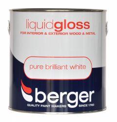 Berger Liquid Gloss 2.5L Pure Brilliant White