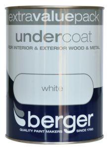 Berger Undercoat 1.25L Pure Brilliant White