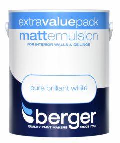 Berger Matt Emulsion 3L Pure Brilliant White