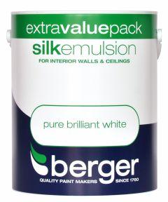 Berger Silk Emulsion 3L Pure Brilliant White