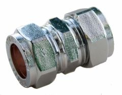 Oracstar Compression Straight Connector 15Mm X 15Mm Chrome
