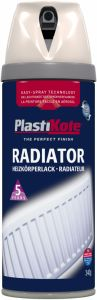 Plastikote Radiator Spray Paint 400Ml Magnolia